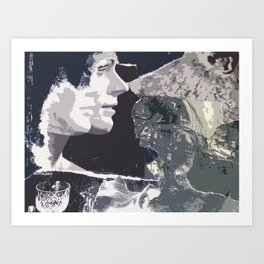 Mirror/Image Art Print