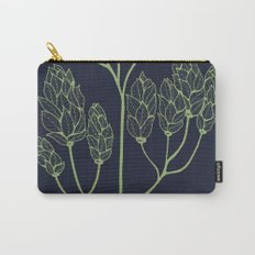 Leaf-like Sumac on Navy Carry-All Pouch