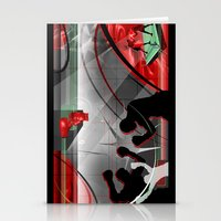 boxing Stationery Cards featuring Boxing by Robin Curtiss