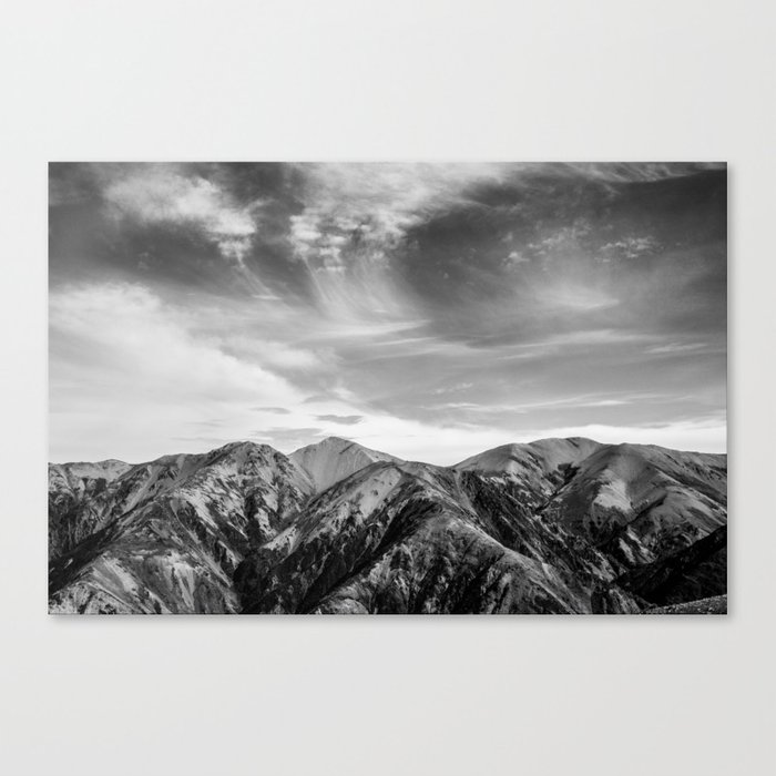 Mount Hutt Sky Canvas Print