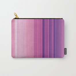 Abstract Vertical Violet and pink stripes Carry-All Pouch