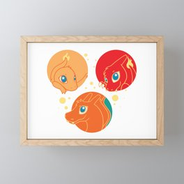 Fire Pack Framed Mini Art Print