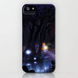 Mythical forest iPhone Case