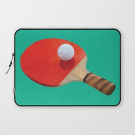 Ping Pong Paddle polygon art Laptop Sleeve