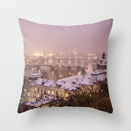 Prague 3 Throw Pillow
