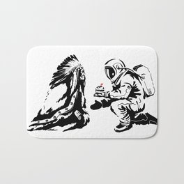 Columbus Day Bath Mat