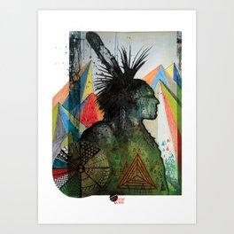 Tenaya Art Print