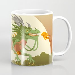 traditional chinese dragon Coffee Mug