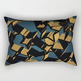 3D Mosaic BG Rectangular Pillow