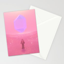 Lost Astronaut Series #03 - Floating Crystal Stationery Cards
