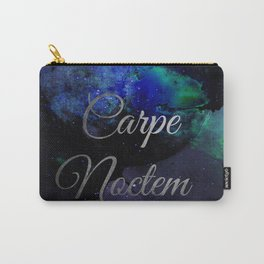 Carpe Noctem (Seize The Night) Carry-All Pouch