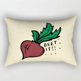 Beet It Rectangular Pillow