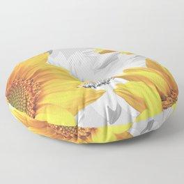 Sunflower Bouquet #decor #society6 #buyart Floor Pillow