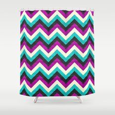 Chevron - Diva Shower Curtain
