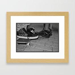 'BURGH BOYS Framed Art Print