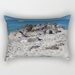 Forgive the Past Rectangular Pillow