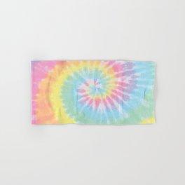 Pastel Tie Dye Hand & Bath Towel