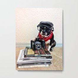 The Dog Photographer Metal Print