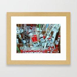 Chop Sticks Framed Art Print