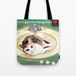 Catrina in the Sink Tote Bag