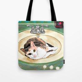 Catrina in the Sink Tote Bag