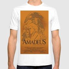 Amadeus MEDIUM White Mens Fitted Tee