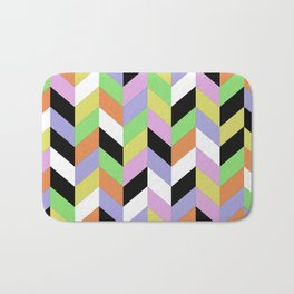 Stacked Colour Bath Mat