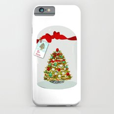 I'll Be Home For Christmas, Christmas Tree Globe Slim Case iPhone 6