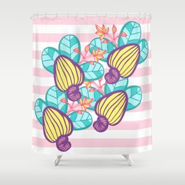 Candy Cashew Apple 1 Shower Curtain