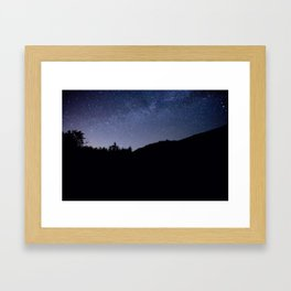 Good Night at Mount Baker Framed Art Print