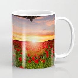 Poppy Vulcans Coffee Mug