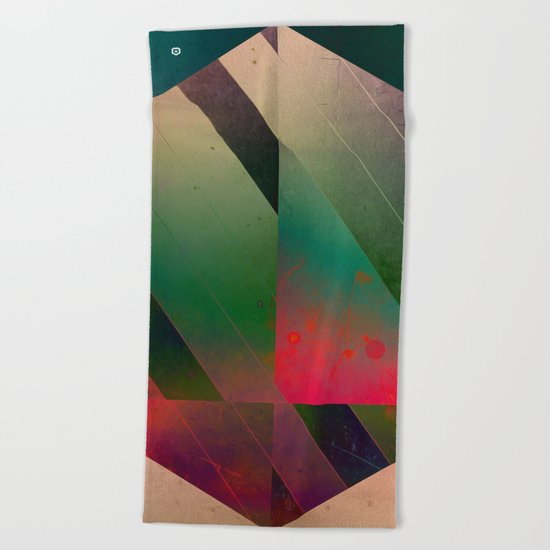 5 hyx Beach Towel