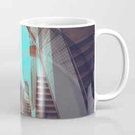 Stairways abstract photo collage Coffee Mug