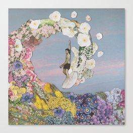 Floral Waver Canvas Print