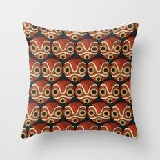Mononoke-hime Pattern Throw Pillow