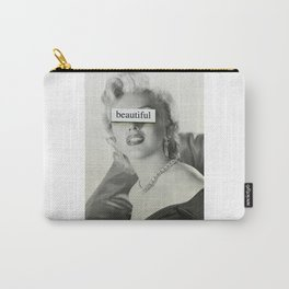 Beautiful Monroe Carry-All Pouch