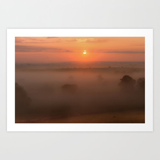 Mornings Embrace Art Print