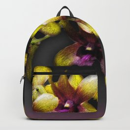 Yellow Orchids Backpack