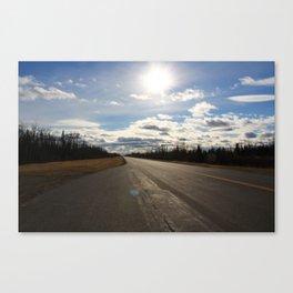 Follow On Canvas Print