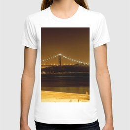 Lisbon bridge light T-shirt