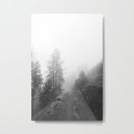 October Fog Metal Print