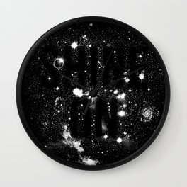 Shine On Wall Clock