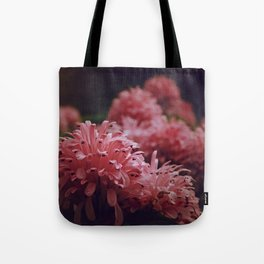 Pink Bellingrath Floral Tote Bag
