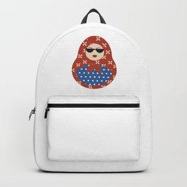 Modern Russian Matryoshka doll Backpack