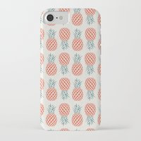 chicago bulls iPhone & iPod Cases featuring Pineapple  by basilique