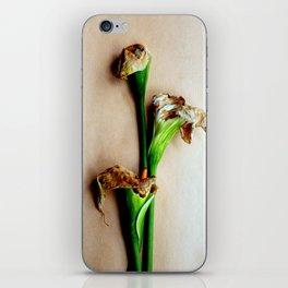 Calla Niente iPhone Skin