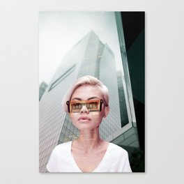 Futurischick Canvas Print
