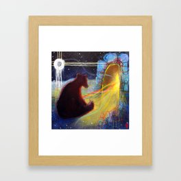 Dreaming Of The Time To Come Framed Art Print
