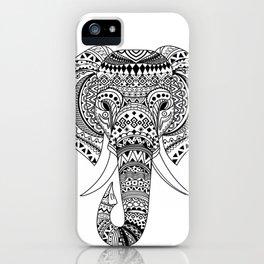Ethnic Elephant iPhone Case