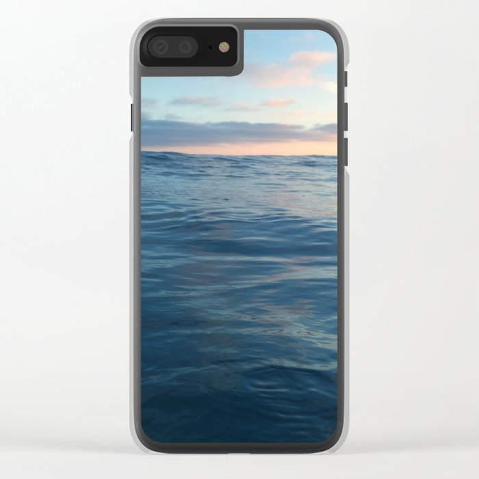 Surfacing Clear iPhone Case